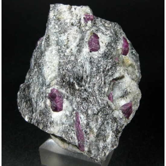 Ruby With Biotite