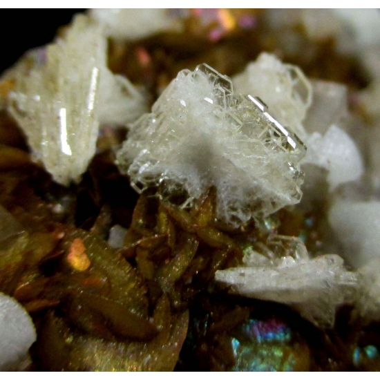Baryte Calcite & Dolomite On Siderite