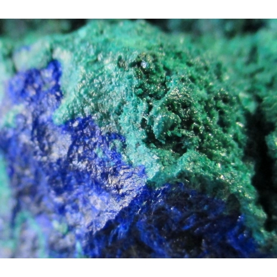 Malachite On Azurite