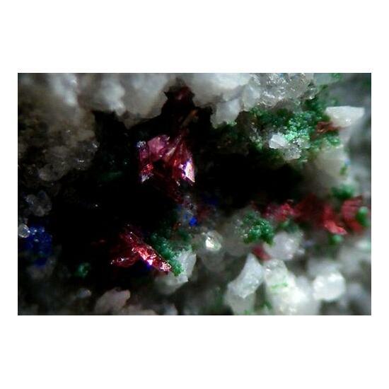Clinotyrolite & Erythrite & Azurite