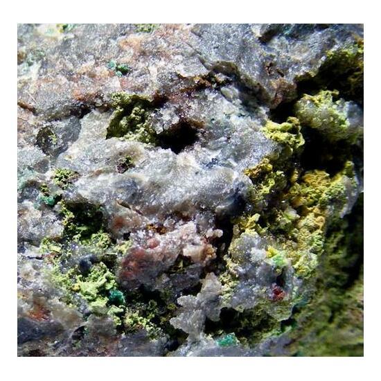 Bayldonite Aurichalcite & Beudantite