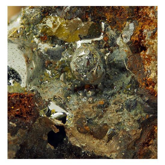 Moschellandsbergite Calomel & Amalgam