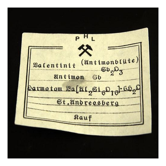 Valentinite & Stibnite