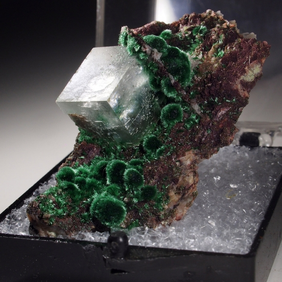 Calcite & Malachite