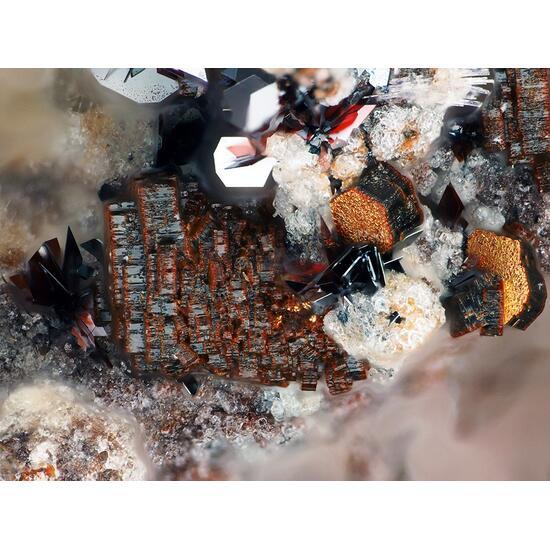 Cordierite With Hematite