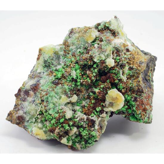 Nickeltsumcorite & Annabergite