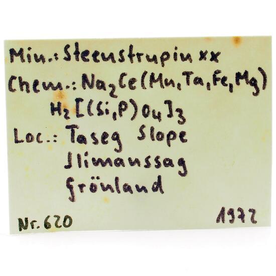 Steenstrupine-(Ce)