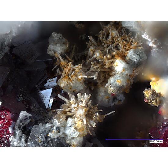 Pyromorphite On Cuprite