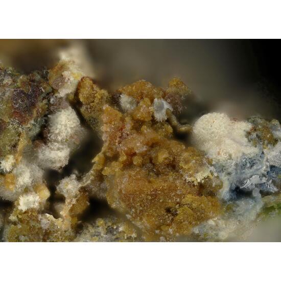 Plumbotellurite & Poughite