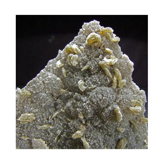 Baryte On Calcite