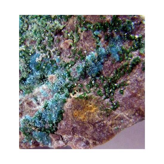 Chalcosiderite & Turquoise