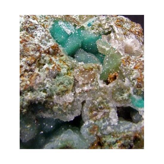 Chrysocolla & Smithsonite