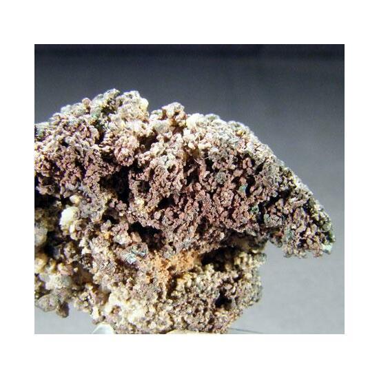 Covellite On Native Copper