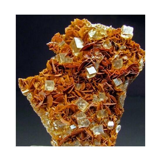 Fluorite On Magnesite