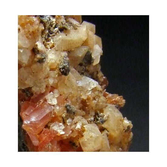 Inesite Apophyllite Calcite & Sphalerite