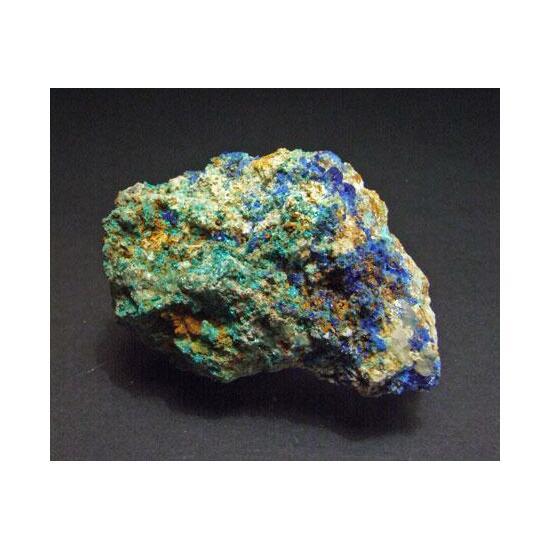 Linarite Brochantite Aurichalcite & Rosasite