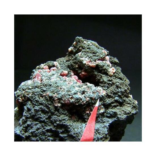 Mitridatite On Variscite Over Crandallite