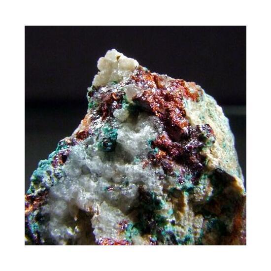 Native Copper Cuprite & Brochantite