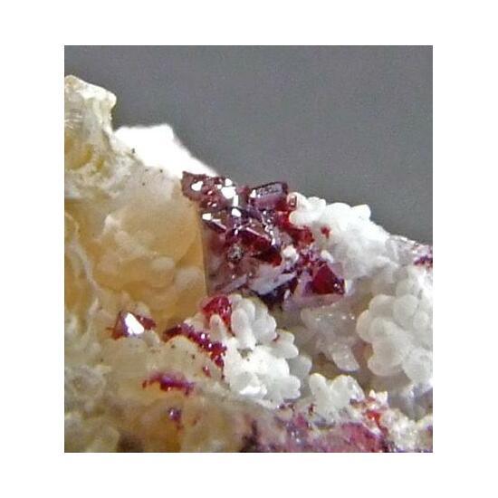 Native Silver On Cuprite & Smithsonite
