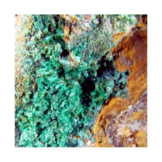 Pseudomalachite & Brochantite