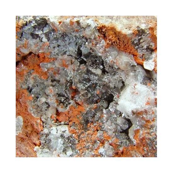 Shannonite & Hydrocerussite In Minium