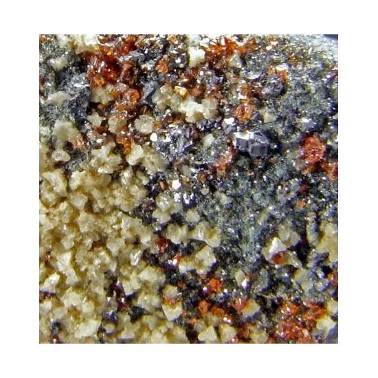 Sphalerite Galena & Ankerite
