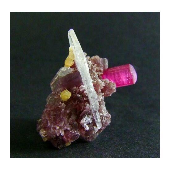 Cleavelandite & Rubellite