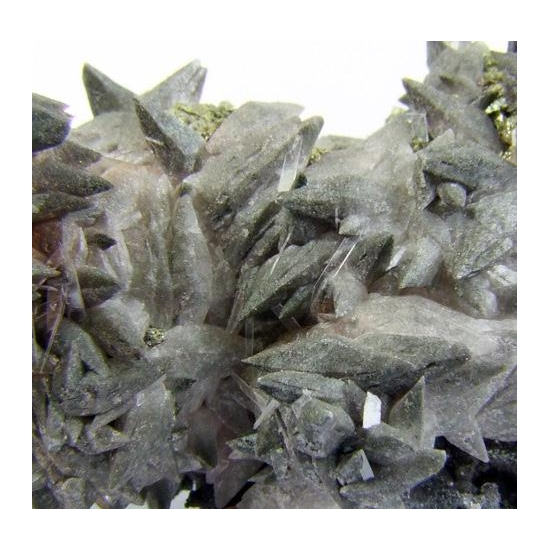 Anhydrite On Calcite Pyrite & Baryte