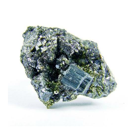 Bournonite On Pyrite