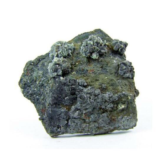 Massicot & Hydrocerussite On Galena