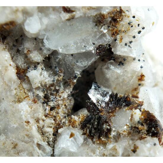 Hubeite Inesite On Calcite