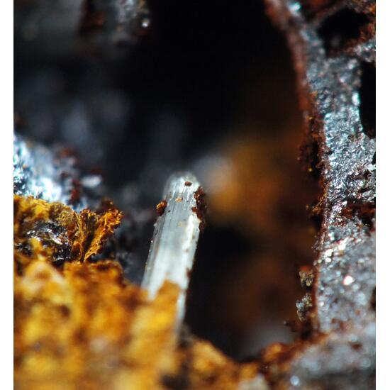 Native Silver & Cerussite