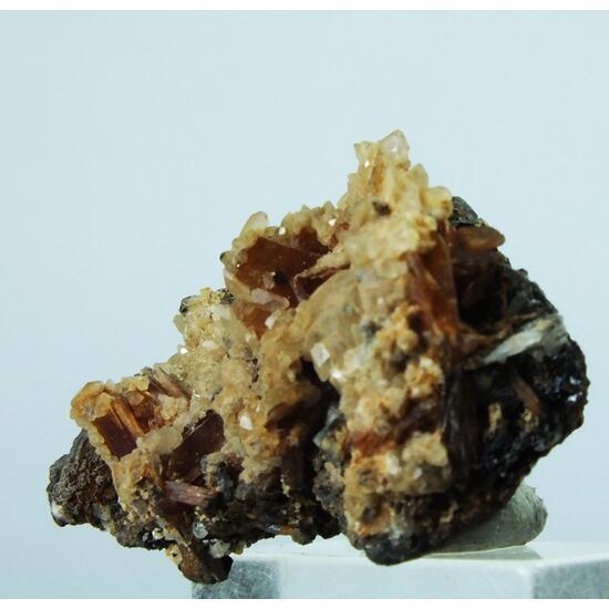Apophyllite On Inesite