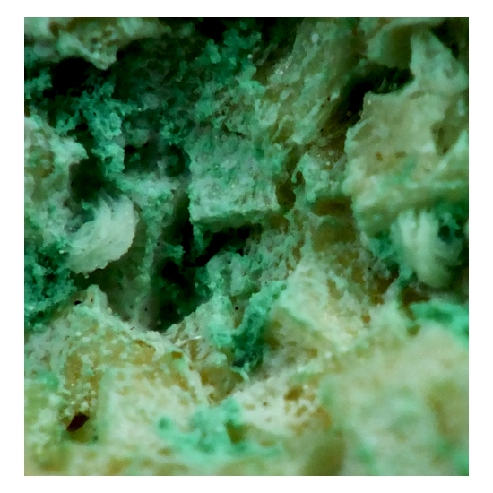 Connellite & Baryte On Chabazite