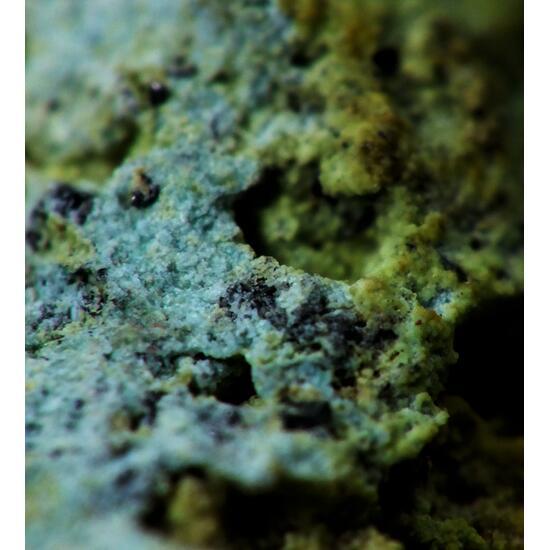 Crocoite On Chalcosiderite & Hinsdalite