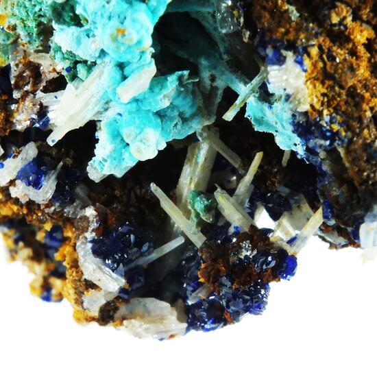 Cerussite Azurite & Chrysocolla