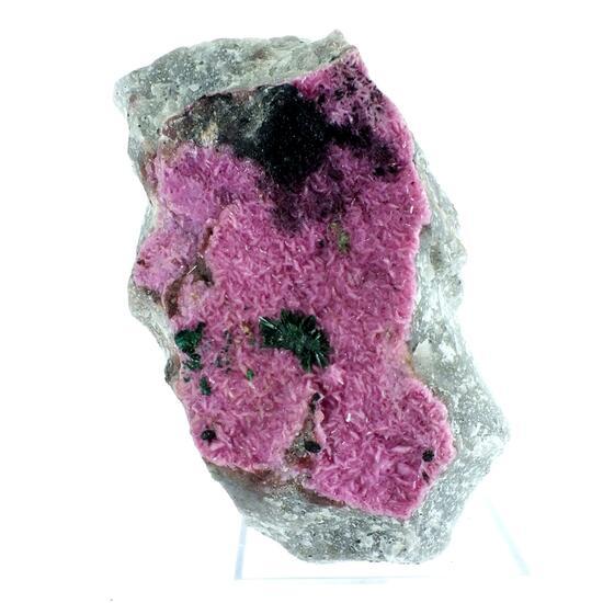 Malachite & Tenorite On Cobaltoan Calcite