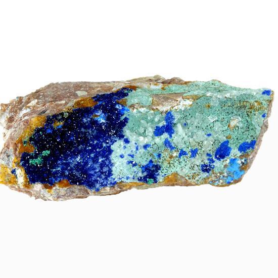 Azurite Cerussite & Plancheite