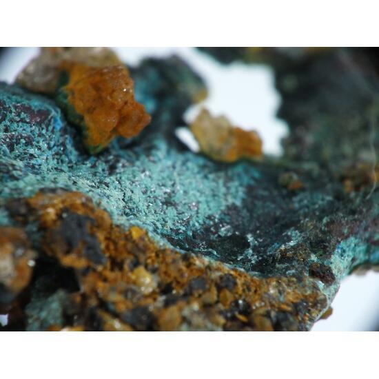 Native Copper & Ktenasite