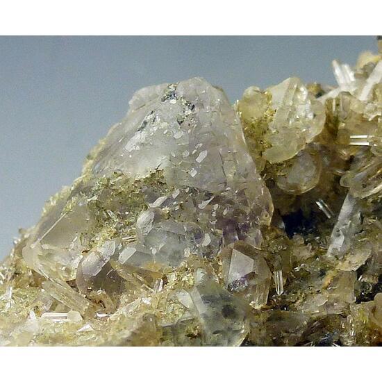 Fluorite & Quartz