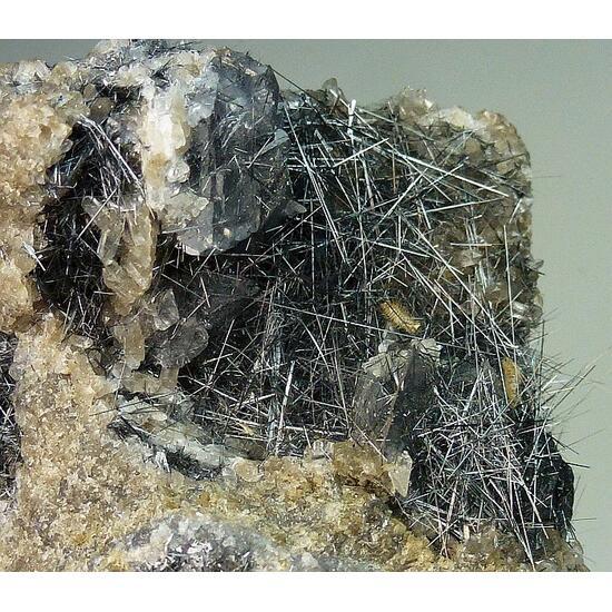 Jamesonite Quartz & Calcite
