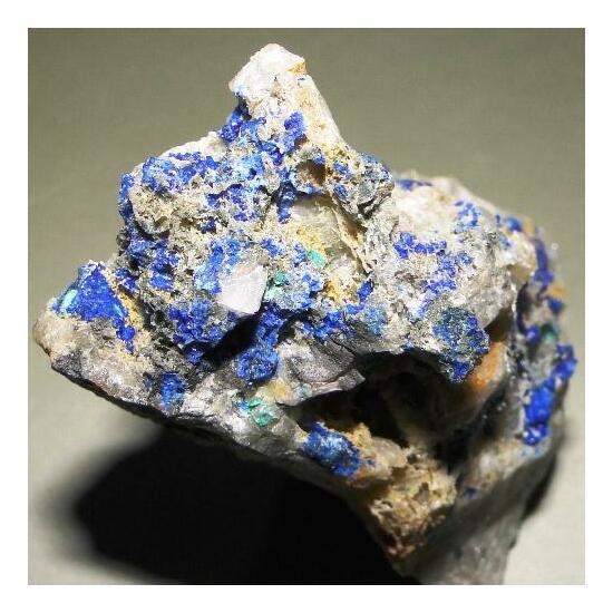 Linarite & Brochantite
