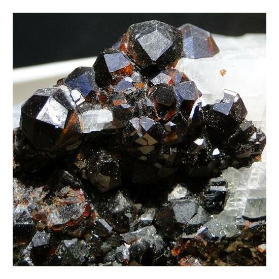 Almandine & Chalcopyrite