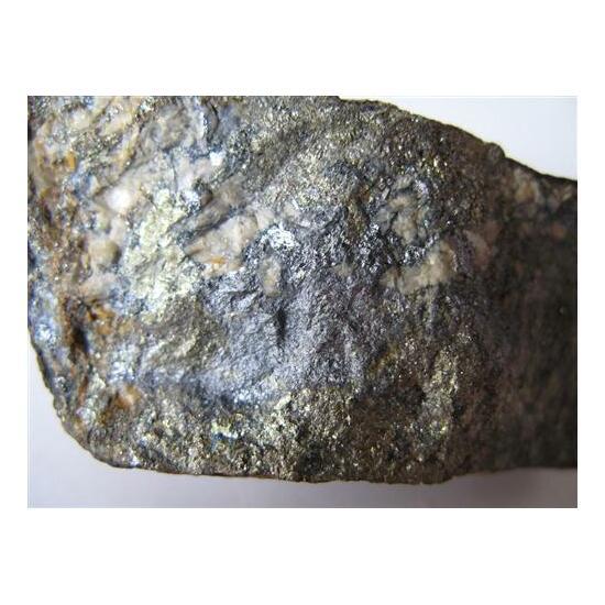 Ullmannite & Chalcopyrite