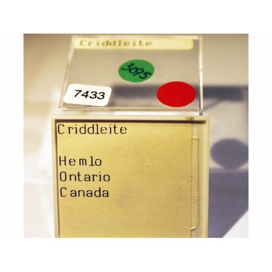 Criddleite