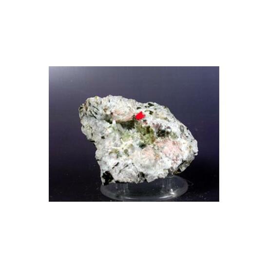 Kainosite-(Y) Tourmaline & Fluorite