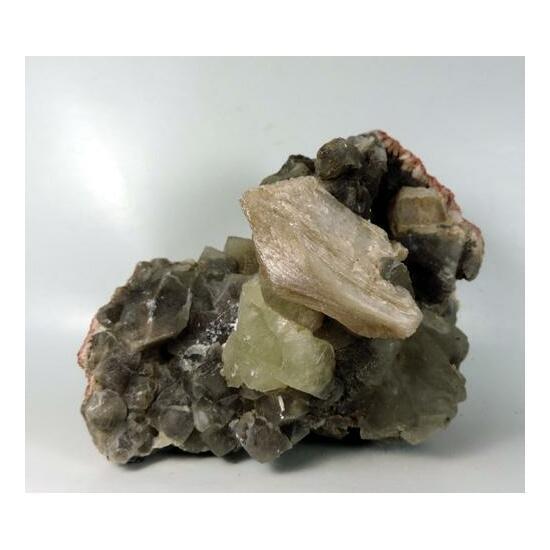 Stilbite & Calcite