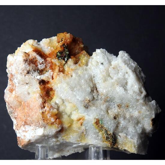 Bariopharmacosiderite Fluorite & Olivenite