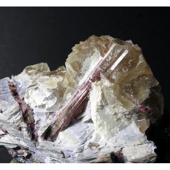 Liddicoatite & Lepidolite