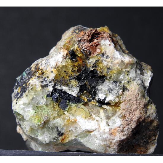 Agardite-(Ce) & Fluorite